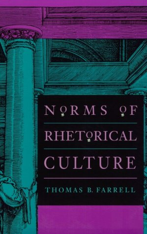Norms of Rhetorical Culture 9780300065022