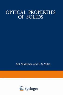 Optical Properties of Solids 9780306303210