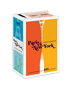 Paris Versus New York Postcard Box: A Tally of Two Cities in 100 Postcards