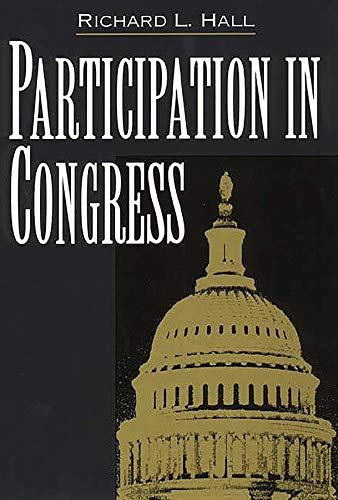 Participation in Congress 9780300076516