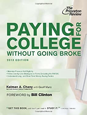 Paying for College Without Going Broke, 2013 Edition 9780307945327