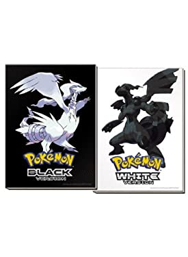 Pokemon Black Version & Pokemon White Version Collector's Edition: The Official Pokemon Strategy Guide & Unova Pokedex with Removable Front-Cover Lent