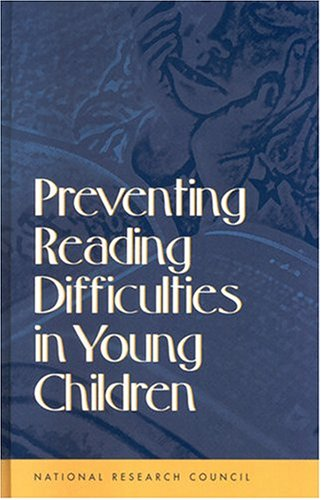 Preventing Reading Difficulties in Young Children 9780309064187