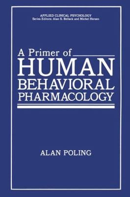 Primer Human Behav Pharm 9780306421860