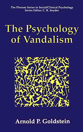 The Psychology of Vandalism 9780306451409