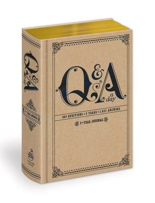 Q & A a Day: 5-Year Journal 9780307719775