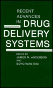 Recent Advances in Drug Delivery Systems 9780306416279
