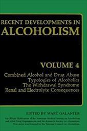 Recent Developments in Alcoholism: Volume 4