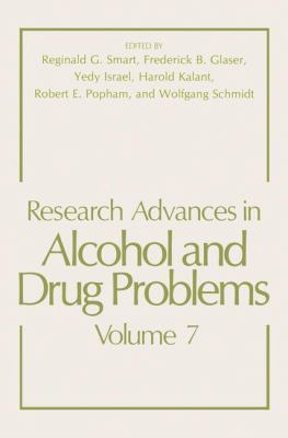 Research Advances in Alcohol and Drug Problems 9780306412189
