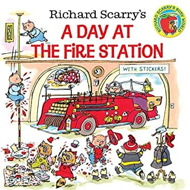 Richard Scarry's a Day at the Fire Station 9780307105455