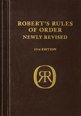 Robert's Rules of Order 9780306820229