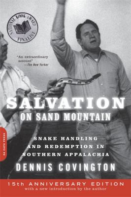 Salvation on Sand Mountain: Snake Handling and Redemption in Southern Appalachia 9780306818363