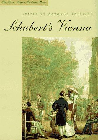 Schubert's Vienna 9780300070804