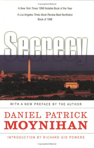 Secrecy: The American Experience 9780300080797