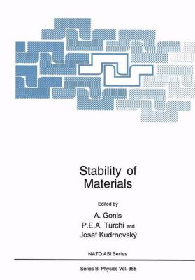 Stability of Materials 9780306453113