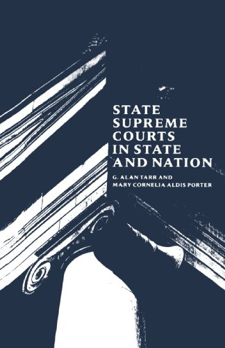 State Supreme Courts in State and Nation 9780300045901