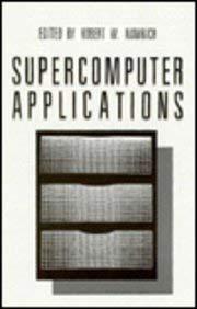 Supercomputer Applications 9780306420139