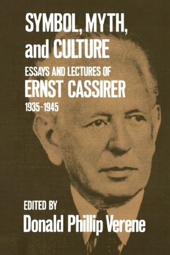 Symbol, Myth, and Culture: Essays and Lectures of Ernst Cassirer, 1935-1945 9780300026665