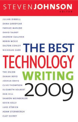The Best Technology Writing 9780300154108