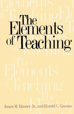 The Elements of Teaching 9780300078558