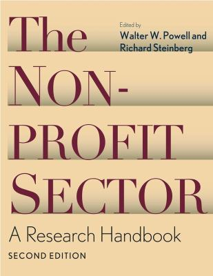 The Nonprofit Sector: A Research Handbook 9780300109030