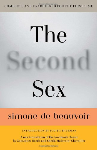 The Second Sex 9780307277787
