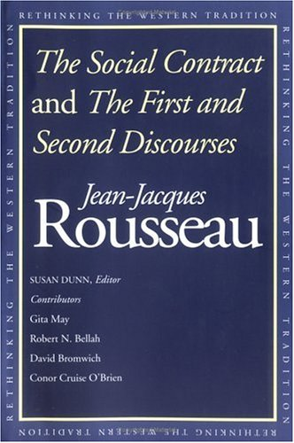 The Social Contract and the First and Second Discourses 9780300091410