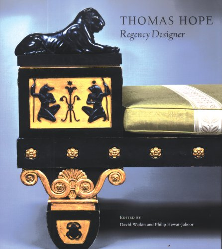 Thomas Hope: Regency Designer 9780300124163