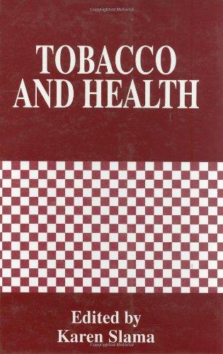Tobacco and Health 9780306451119