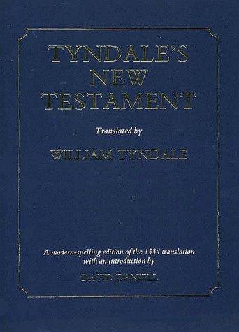Tyndale's New Testament-OE 9780300044195