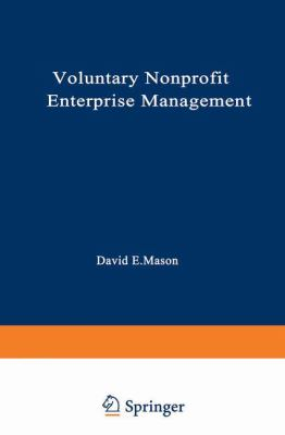 Voluntary Nonprofit Enterprise Management 9780306415821