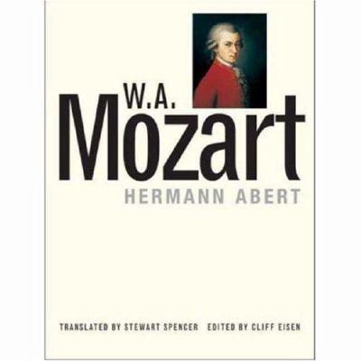W.A. Mozart 9780300072235