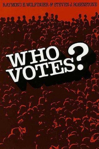 Who Votes? 9780300025521