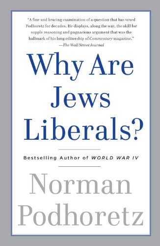 Why Are Jews Liberals? 9780307456250