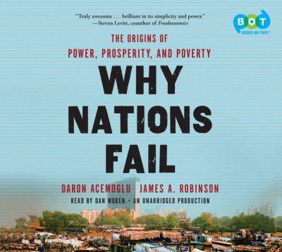 Why Nations Fail (Lib)(CD) 9780307987501