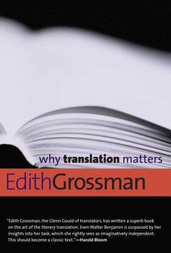 Why Translation Matters 9780300171303