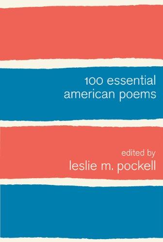 100 Essential American Poems 9780312623975