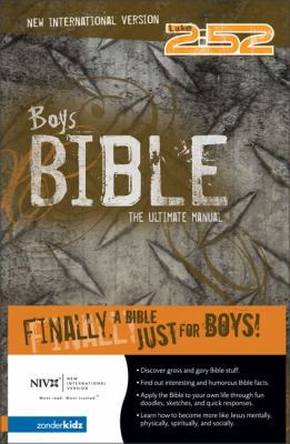 2:52 Boys Bible-NIV: The Ultimate Manual 9780310703204