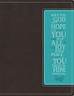 NIV, Beautiful Word Bible, Imitation Leather, Brown/Blue