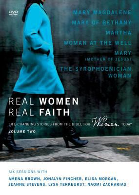 Real Women, Real Faith: Volume 2: Life-Changing Stories from the Bible for Women Today 9780310328025