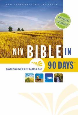 NIV, Bible in 90 Days, Hardcover