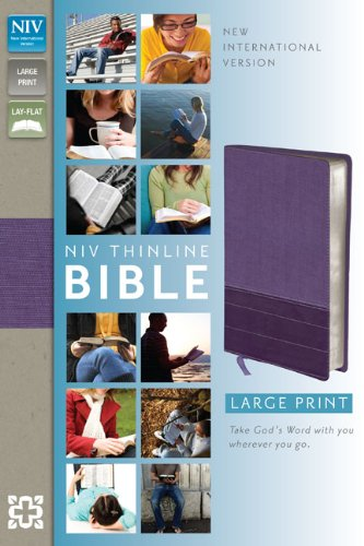 Thinline Bible-NIV-Large Print 9780310435990