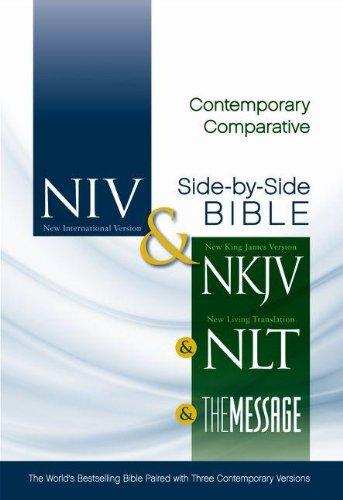 Contemporary Comparative Side-By-Side Bible-PR-NIV/NKJV/NLT/MS 9780310436928