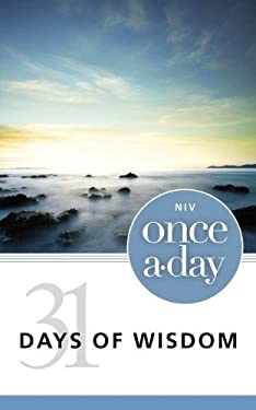 Once-A-Day 31 Days of Wisdom-NIV 9780310440857