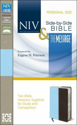 Side-By-Side Bible-PR-NIV/MS-Personal Size: Two Bible Versions Together for Study and Comparison 9780310443230