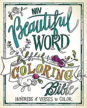 NIV, Beautiful Word Coloring Bible, Hardcover: Hundreds of Verses to Color