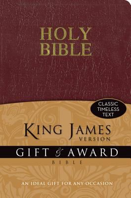 Gift & Award Bible-KJV 9780310949091