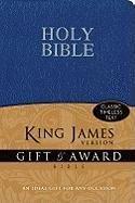Gift & Award Bible-KJV 9780310949114