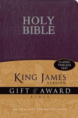 Gift & Award Bible-KJV 9780310949145
