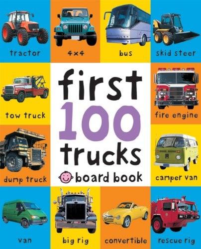 First 100 Trucks 9780312510800